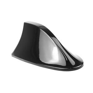 Image 2 - Universal Car Radio Shark Fin Car Shark Antenna Radio FM Signal Design Aerials Antenna Car Styling  For All Car Models
