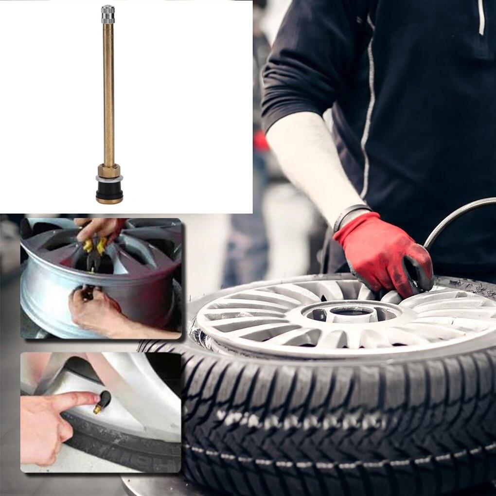 Универсальный TR574 прямой латунный длинный ствол бескамерных шин для грузовых шин клапан стволовых авто аксессуары