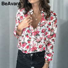 BeAvant vintage long sleeve blouse shirt women spring summer