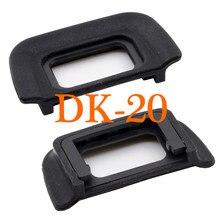 2 шт. DK-20 резиновые для видоискателя с постоянным фокусным расстоянием DK20 насадка окуляра наглазник для Nikon DK 20 D5200 D5100 D3100 D3000 D60 D50