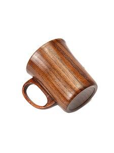 Деревянная чашка ручной работы из натурального дерева, кофейная пивная кружка для завтрака, пивная молочная посуда, чайная чашка, украшение дома