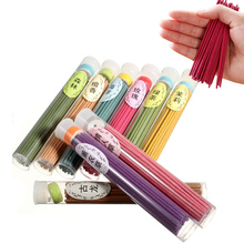 50 Sticks Pack Solid Incense Sticks Natural Environment Aromatizer Colored Smoke Incense Air Sage Smudge Flavoring for Home cheap MAGICCOO Living Room Flower Bud Chinese Incense Stick Incense Gift box Aromatic Limbs Simple Package for Private Use