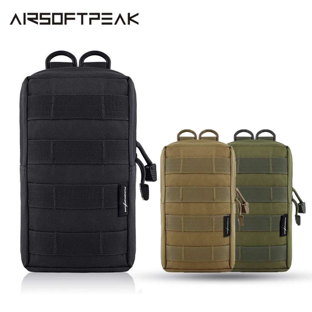 Tactical Molle Pouch Vest Bags Accessory Tool Waist Bag Nylon Utility Fanny Pack Military Paintball Outdoor For Hunting Backpack