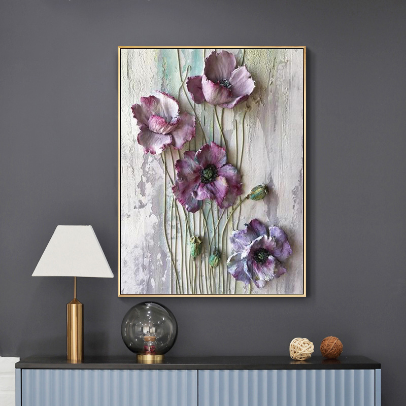 Art Scandinavian Home Decor Abstract Canvas Painting Wall Art Flower Butterfly Posters And Prints Wall Pictures For Living Room
