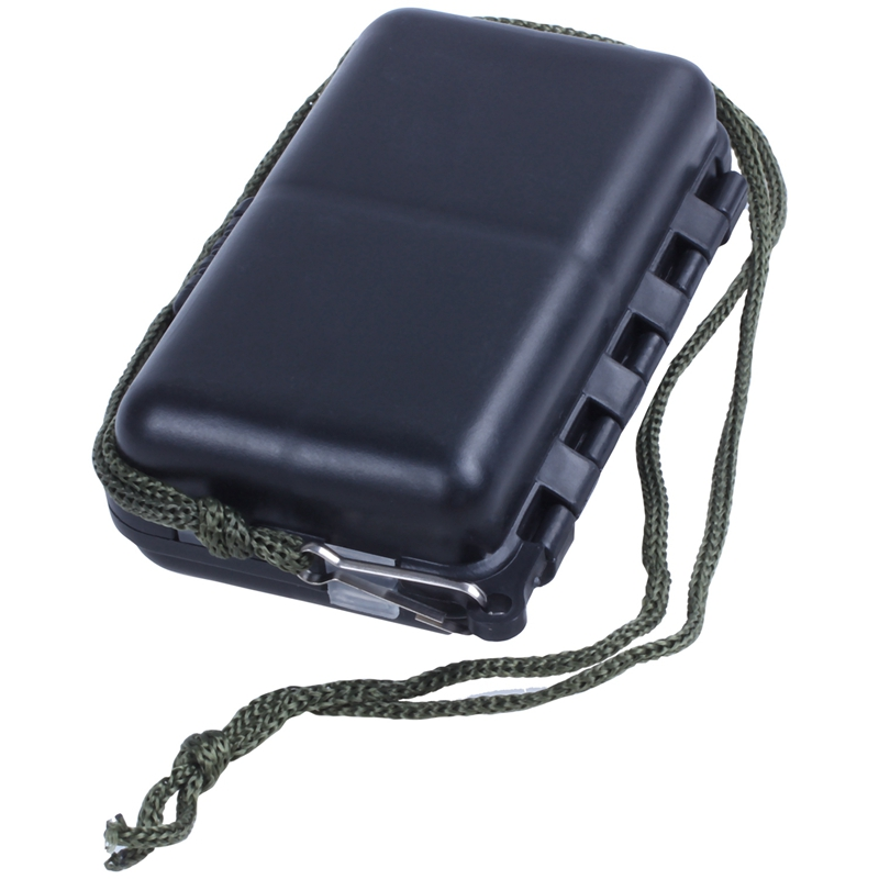 Portable 9 Compartments Fishing Lures Box Spoon Hooks Baits Tackle Hook Case New