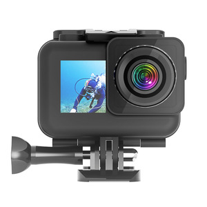 Image 4 - 61M Waterproof Case Set For Dji Osmo Action Accessories Surfing Diving Underwater Housing Box  For Dji Osmo Action Case