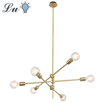 Nordic Modern Chandelier LED E27 Chandeliers Bedroom living Room Indoor Lighting Lamp 90v 220v Kitchen Restaurant Hanging Light