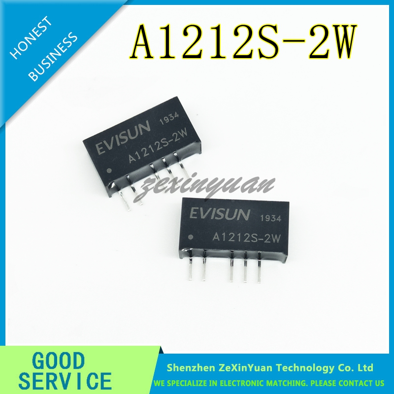 A1212S-2W Power Module 12V To Positive And Negative 12V DC-DC Isolation Power Chip A1212S-2WR2