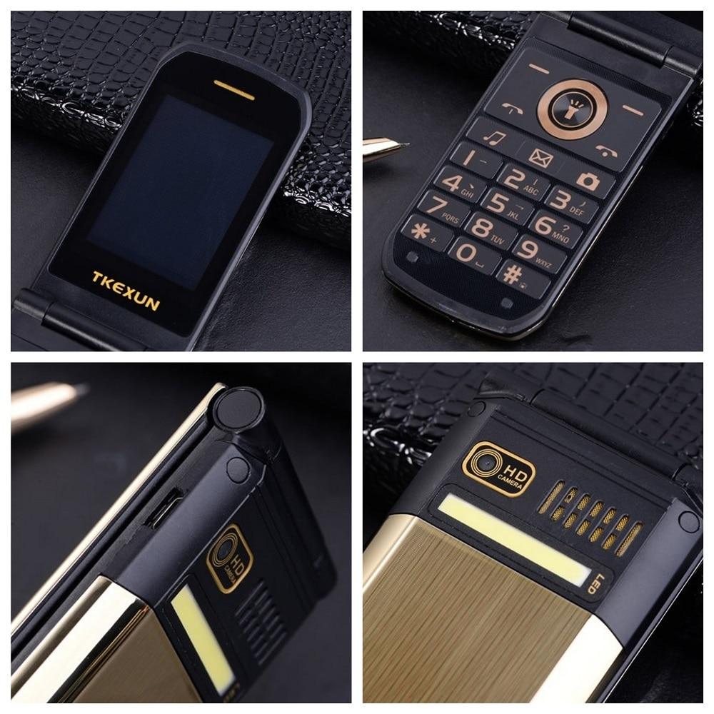 Tkexun раскладушка мобильный телефон 2,4