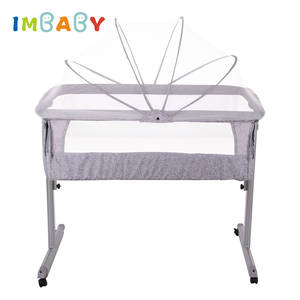 IMBABY Bed Travel-Bed Newborn-Bassinet Nest Cot with Mosquito-Net Bb-Cradle Portable