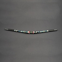 INTRO7 Fixie bike stuur 31.8mm 720mm carbon fiber track fiets Swallow-vormige single speed bike handle bars
