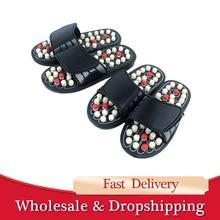 Yoga Fitness Massage Slippers Acupressure Foot Massager Acupoint Massage Ball Slippers Shoes Reflexology Sandals