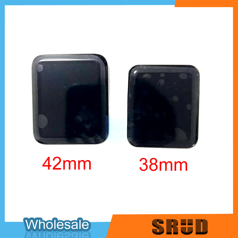 Original For <font><b>Apple</b></font> <font><b>Watch</b></font> 1 2 <font><b>3</b></font> 4 5 38mm 40mm <font><b>42mm</b></font> 44mm LCD <font><b>Touch</b></font> <font><b>Screen</b></font> Assembly <font><b>Replace</b></font> Part With Free 3M Frame Tape image
