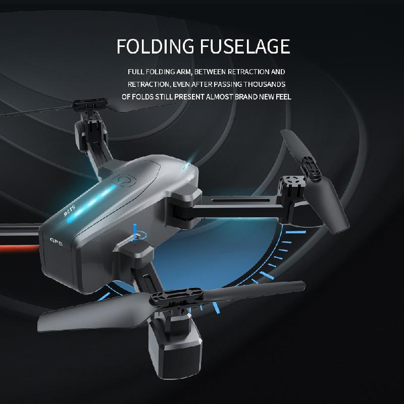 New Drone GPS 4K ESC Dual camera WiFi live video FPV HD Wide Angle Camera Quadrocopter Foldable Altitude Hold Durable RC Drone