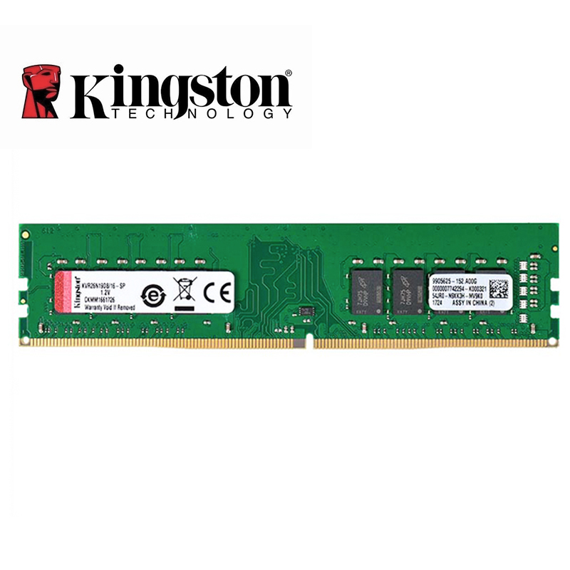 Kingston Speicher RAM DDR4 4GB 8GB 16GB 32GB 2133MHz 2400MHz 2666MHz 288pin 1,2 V 4 gb 8 gb 16 gb 32 gb Desktop-Speicher DIMM RAM
