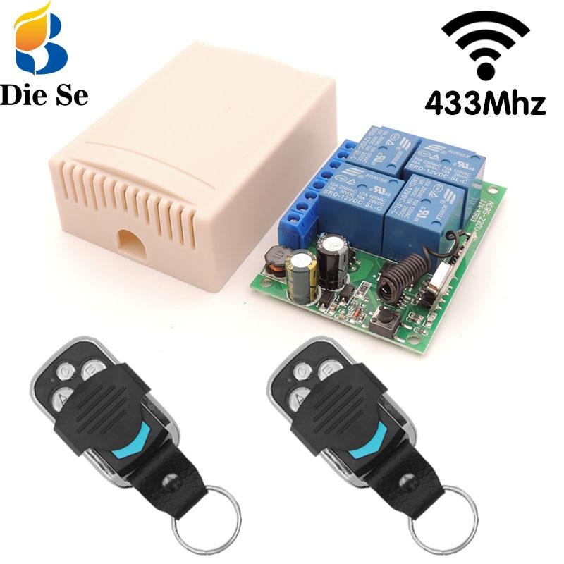 Diese беспроводной rf433 mhz пульт дистанционного управления