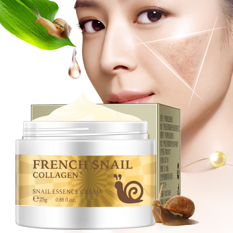 New Arrival Anti Wrinkle Snail Hyaluronic Acid Moisturizing Face Cream Anti-Aging Whitening Face Care