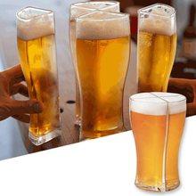 Super Schooner kufle do piwa kufel kubek oddzielne 4 części o dużej pojemności gruby kufel do piwa szklany kubek do klubu Bar Party Drinkware