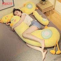 150cm Big Lovely Duck Plush Toy Soft Cartoon Animal Stuffed Doll Boyfriend Pillow Kids Girl Birthday Gift Pregnant Pillow