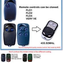 Flo1 flo2 flo4 muito ve porta da garagem duplicador de controle remoto código fixo 434