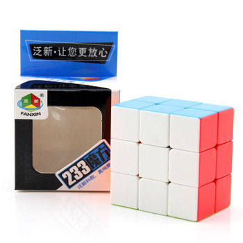 This 3x3x2 cibe is a great stepping stone to the 3x3x3 cube we all know