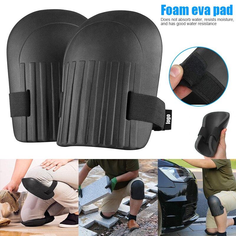 1 Pair Covered Foam Knee Pad Professional Protectors Sport Work Kneeling Pad SDF-SHIP