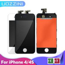 100% Tested Good Quality LCD For iPhone 4 4s Replacement Screen Display Digitizer Touch Screen Assembly LCD Screen