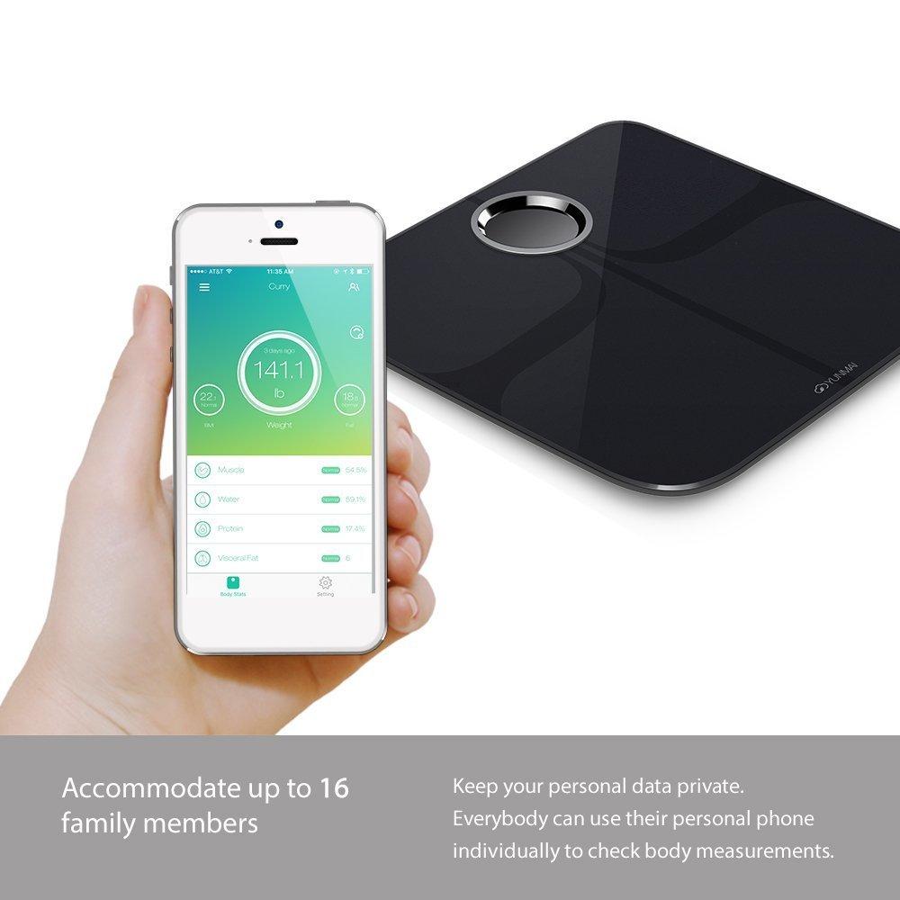2019 Xiaomi Mijia Yunmai balance intelligente Premium-balance de graisse corporelle avec application de Fitness et moniteur de Composition corporelle Xiomi pour le Sport de santé