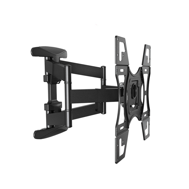32-60 inch TV Wall Mount 6 Swing Arms Full Motion Retractable Swivel Screen Bracket Stand Plasma TV Support Rotary 400 * 400mm