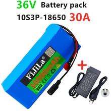 Литиевый аккумулятор высокой мощности 36 В 10S3P, 30 Ач, 500 Вт, 42 в, 18650, 30000 мАч, для электрического велосипеда, скутера, BMS + зарядное устройство