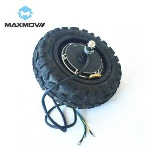 Roda elétrica do motor do cubo do trotinette de 600w/1000w 48v com pneu fora de estrada de 11 polegadas cst 90/65-6.5