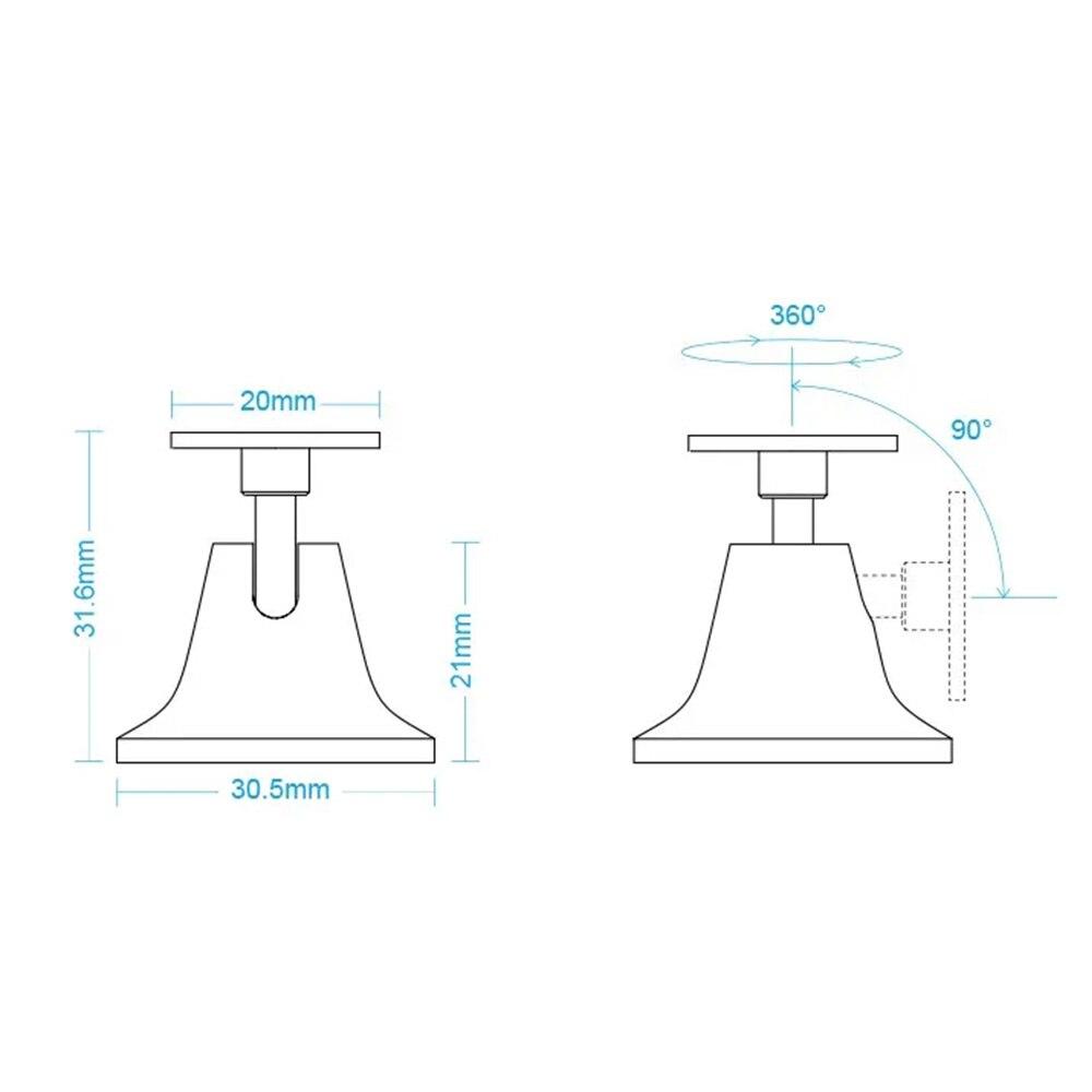 Aqara RTCGQAZDZ11LM PIR Sensor Menschliches Körper Motion Sensor Stand Basis Halter für Mijia Menschlichen Körper Sensor Xiaomi Smart Home Kit