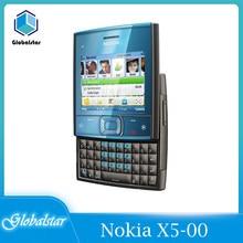Nokia X5-00 Refurbished Original Unlocked Slider Nokia X5-00 Mobiele Telefoon Gsm 900/1800 Dual Band Gebruikt Voorwaarden Refurbished