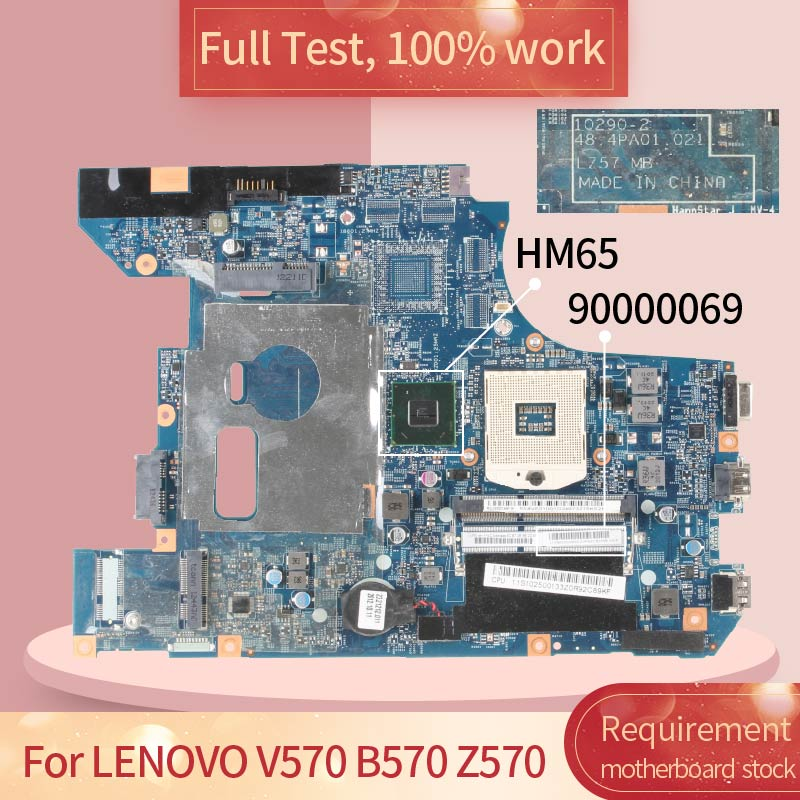 10290-2 For <font><b>LENOVO</b></font> <font><b>V570</b></font> B570 Z570 9000069 HM65 DDR3 Notebook <font><b>motherboard</b></font> Mainboard full test 100% work image