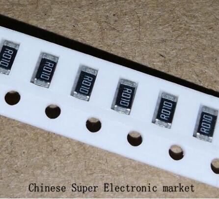 Resistor de chip 100 ohm 0.1 1206 1%, RL1206FR-070R1L peças 0.1r ohm (0.15r 0.2r 0.22r 0.33r 0.47r 0.5r 0.56r 0.68r 0.75r