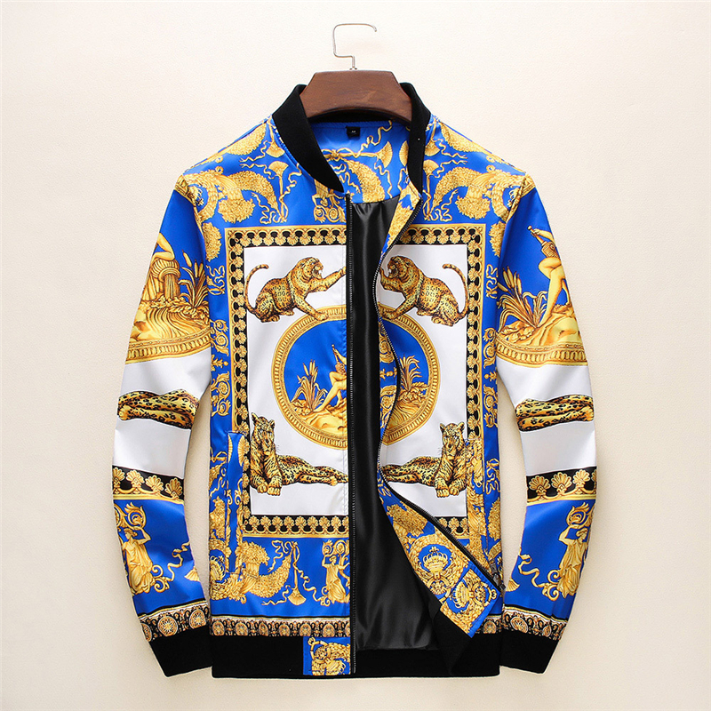 2020 New Brand Bomber Jacket Men Leopard Printed Streetwear Jaqueta Masculina Chaquetas Hombre Veste Homme Casaco Masculino
