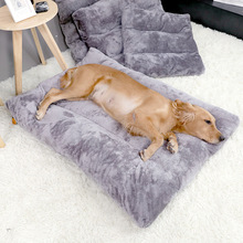 Warm Plush Dog Bed Pet Bed For Dog Cat Mat Cushion Blanket House Soft Puppy Sofa Mat