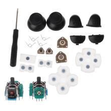 L1 R1 L2 R2 כפתורי הדק 3D אנלוגי ג ויסטיקים אגודל מקלות כובע מוליך גומי עבור PS4 בקר תיקון סט