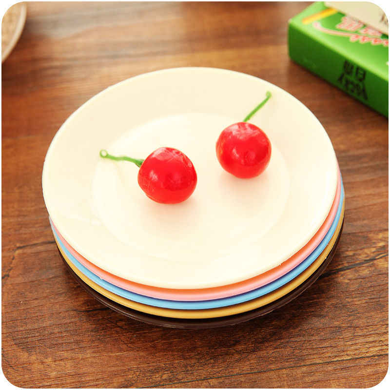 1pc 주방 접시 디저트 디너 플레이트 식기류 식기 shatterproof 13 cm 접시 접시