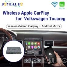Joyeauto Wifi Wireless Apple Carplay per Volkswagen Touareg 2010 2017 8 pollici Android Mirror Car play supporto fotocamera anteriore/posteriore