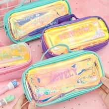 2019 New Kawaii Pencil Case Large Capacity Pencilcase School Pen Supplies Bag Box Pencils Pouch Stationery