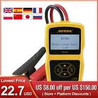 BT360 Car Battery Tester Analyzer Digital 12V Auto For Flooded AGM GEL BT-360 Automotive Batterys Analyzer CCA