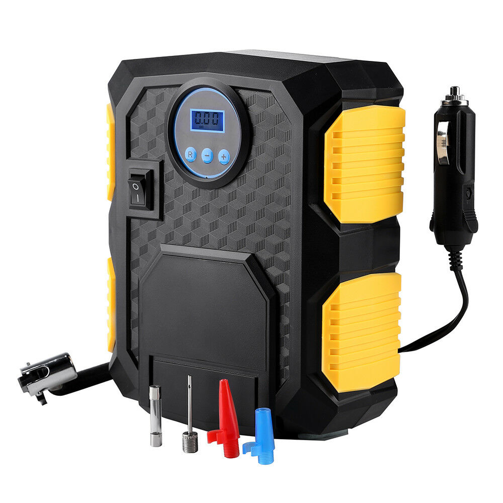 amplamente utilizado dc 12v 150psi digital tire inflator portatil bomba compressor de ar do carro compressor
