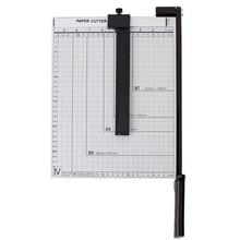 Резец острое лезвие домашняя фото офисная линейка практичная простая в эксплуатации Безопасный портативный триммер для бумаги сталь А4 точный
