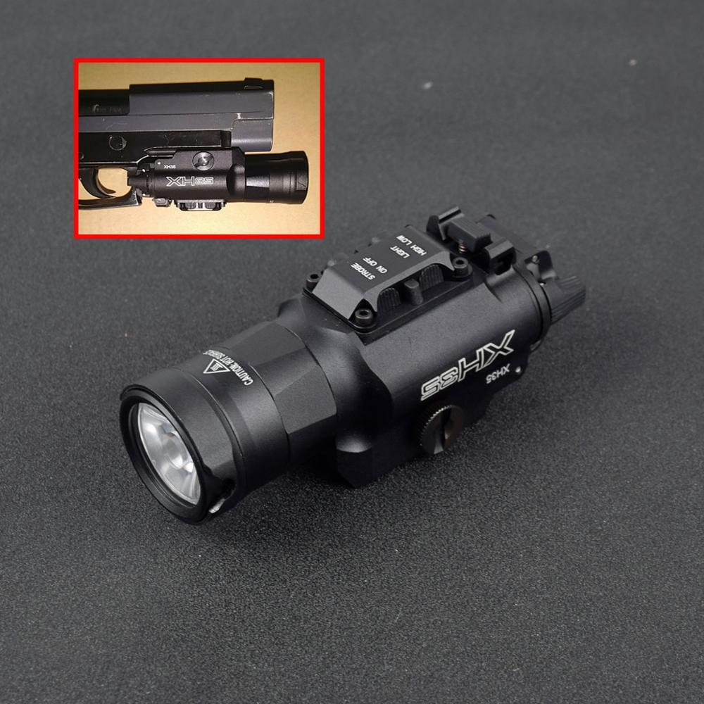 xh35 tatico x300 u h b arma luz dupla saida branco led luz brilho ultra alto