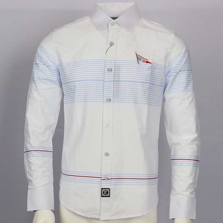 Embroidery shirt camisa masculina Men Long Sleeve Dress Shirts Cotton Social hombre eden park faconnable chemises homme men