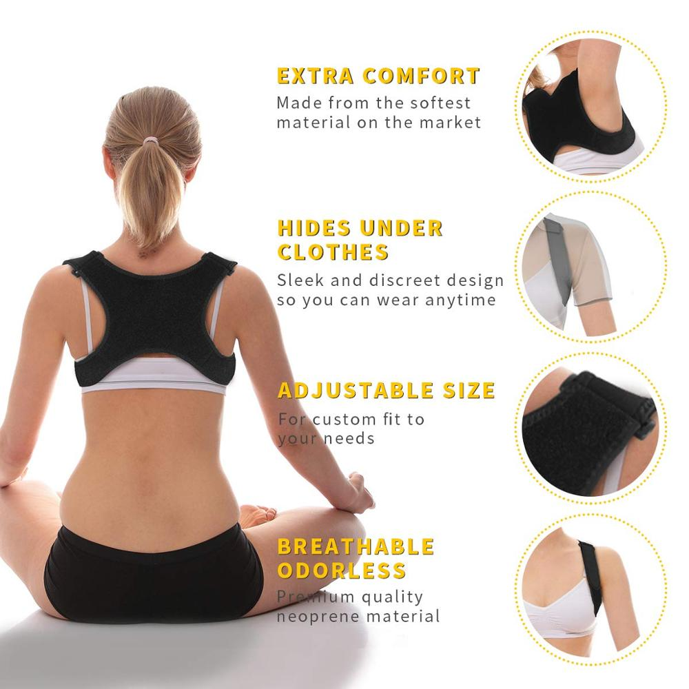 Spine Back Posture Corrector and Protection 4