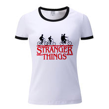 Stranger Things Printed T Shirt Vintage Style Graphic Tees Women White Animal Print Tshirt Fashion Lady Dreamy Tops Befree Moto animal футболка animal graphic p05 12