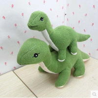 Valentine's Day New Style Plush Toys Wholesale Dinosaur Doll Green Dinosaur Doll Long Necked Brontosauruses Doll
