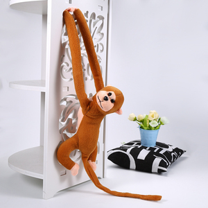60cm Long Arm Monkey Cute Plush Toys Kawaii Baby Sleeping Appease Doll Plush Animal Toy Home Decoration Toy Kids Toddler Gift(China)